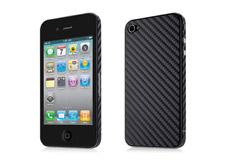 Apple iphone 4/4s (на 2 стороны, карбон)