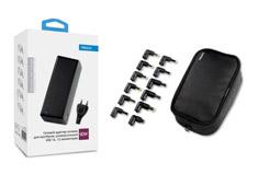 multibrand адаптер питания для ноутбуков, универсальный, 12 коннектеров, USB 1A, 90 Вт